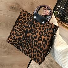 Bolso de leopardo para mujer 2019 bolsos de lujo de diseñador con asa de hombro bolsos de bandolera para mujer bolso de gran oferta