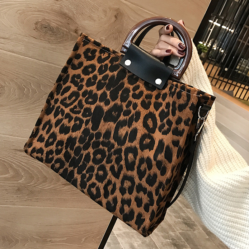 Leopard Tote Bags For Women 2019 Luxury Handbags Women Designer With Handle Shoulder Bag Women's Crossbody Bags Handbag Hot Sale