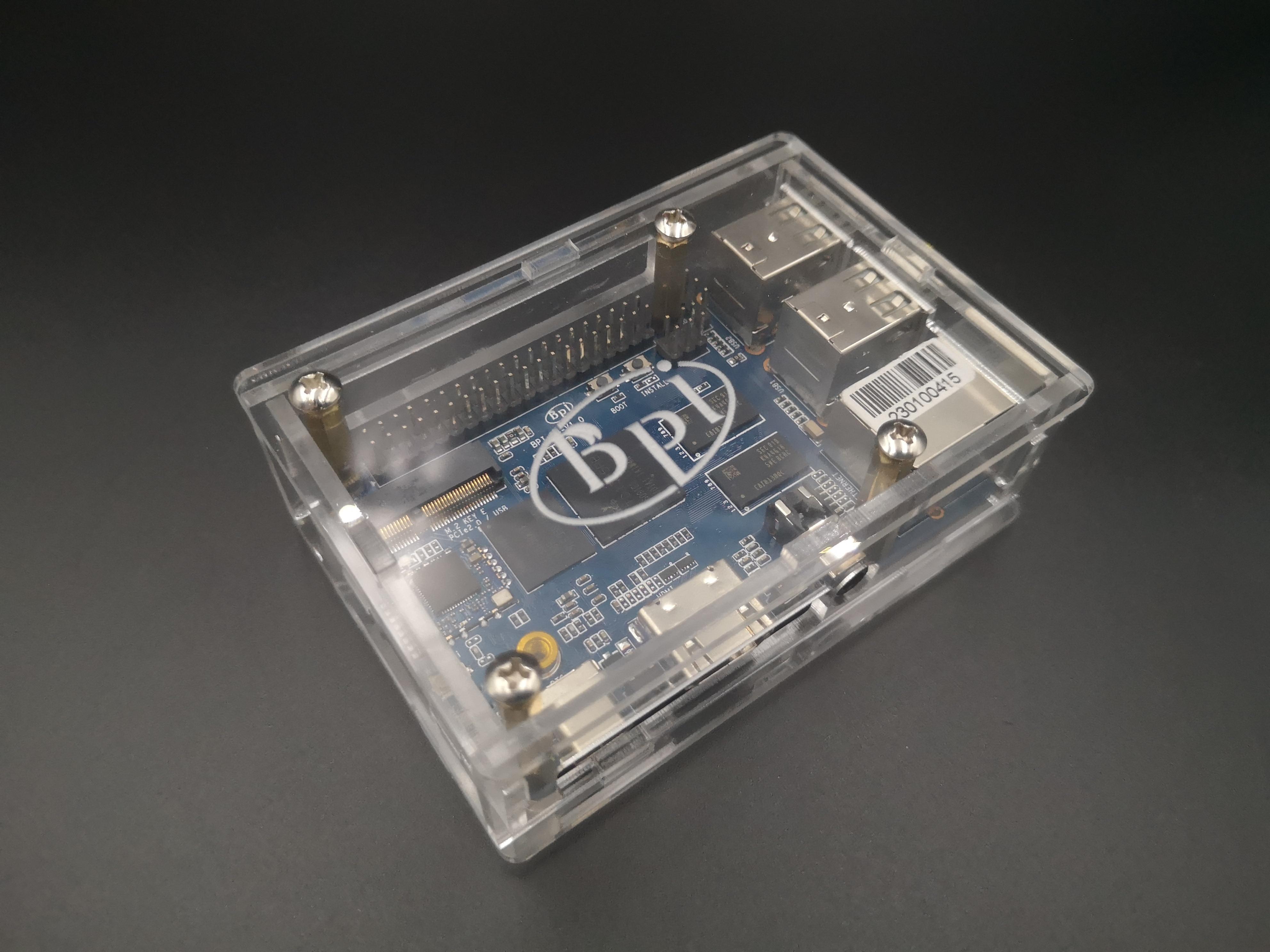 BPI M4 акриловый чехол Banana Pi Board хорошее качество прозрачный акриловый корпус