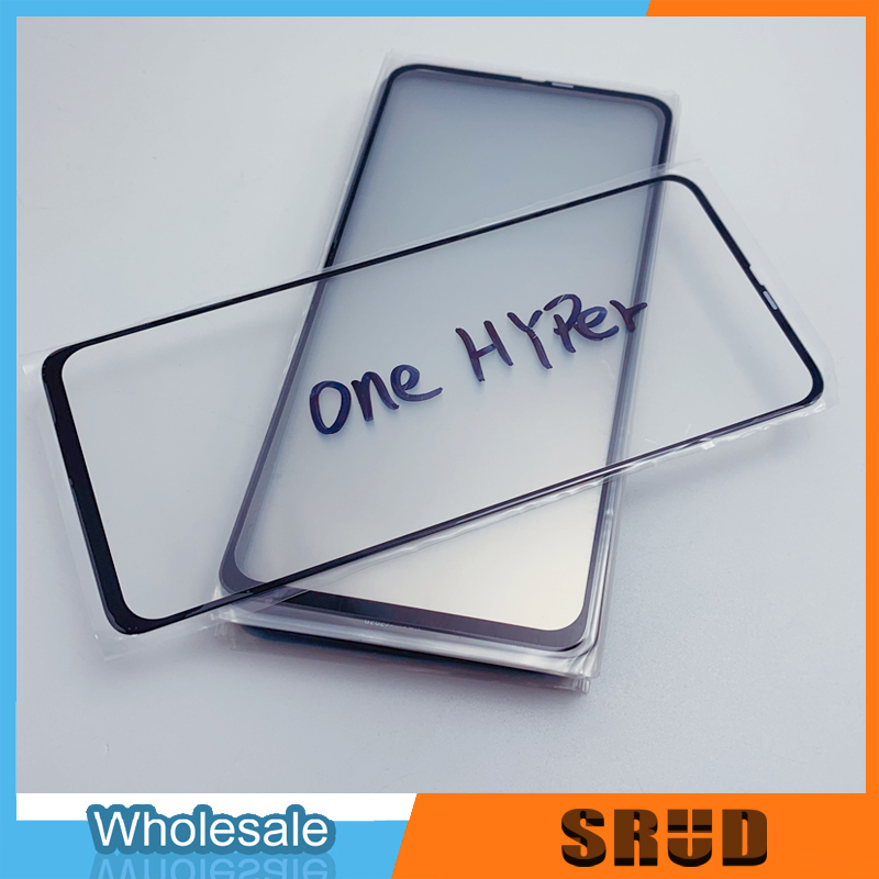 10Pcs New Model Laminated OCA Front Outer Glass For Motorola One Hyper LCD Touch Screen Outer Glass Lens Repaire