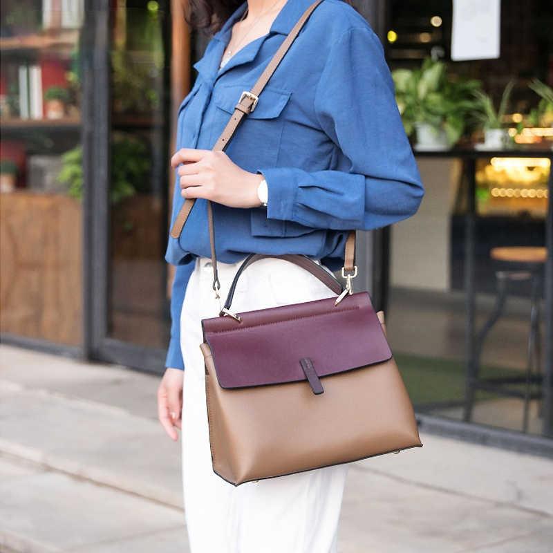 Модная сумка на плечо для женщин, элегантная дамская сумочка из высококачественной искусственной кожи, дизайнерский портфель, мессенджеры на ремне