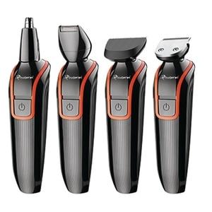 Image 1 - 6in1 set elektrische haar clipper wiederaufladbare haar trimmer präzision körper rasierer trimer bart schnurrbart gesichts haar schneiden maschine