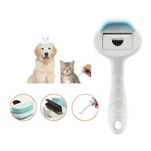 3 in 1 Pet Grooming Tools Dog Hair Remover Cat Lice Comb Brush Pet Deshedding Clipper Puppy Cats Grooming Massage Combs Brush dog glove pet cat hair remover brush suede anti bite cleaning massage pet grooming glove puppy cats dogs hair deshedding combs
