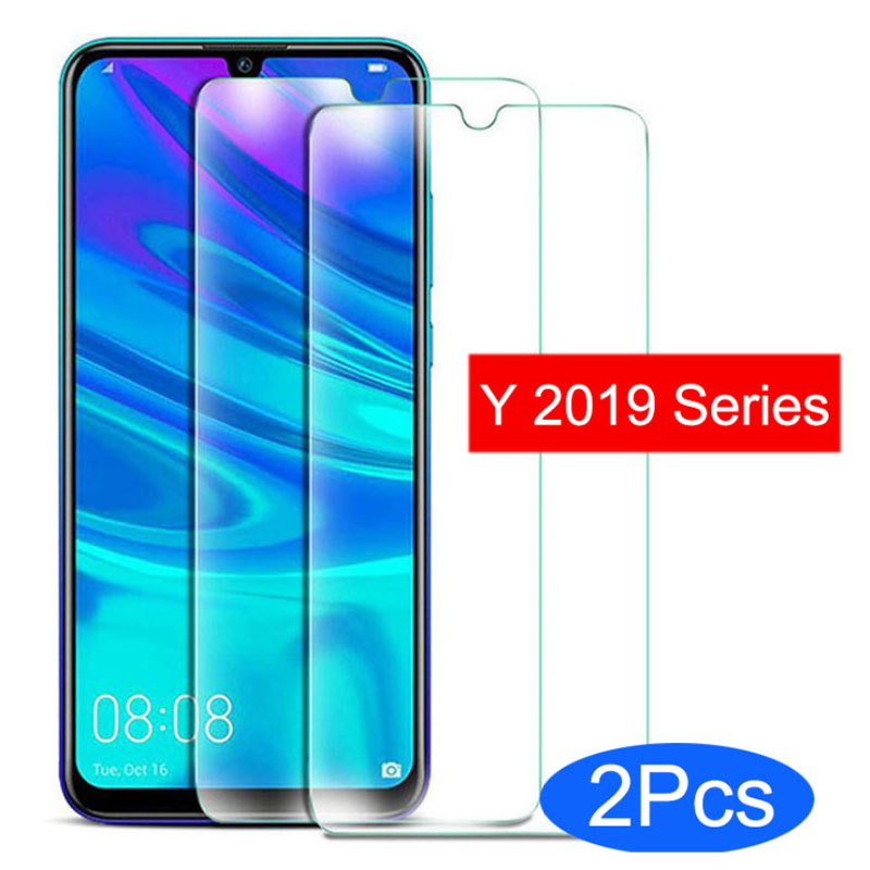 Tempered Glass Phone Case for Huawei Y9 Y7 Y6 Y5 2019 Protective Shell Accessories Safety on Huawey Y 9 7 6 5 Y92019 Y72019 Glas(China)