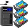 2300mAh DMW-BLF19E DMW-BLF19 Camera Battery DMW BLF19 BLF19 BLF19E  LCD Dual USB Charger for Panasonic Lumix GH3 GH4 GH5 flash sale