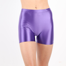 DROZENO Ladies shorts satin 3xl 10 color shiny high waist shorts New Japanese style shortsSports Leggings and shorts sati