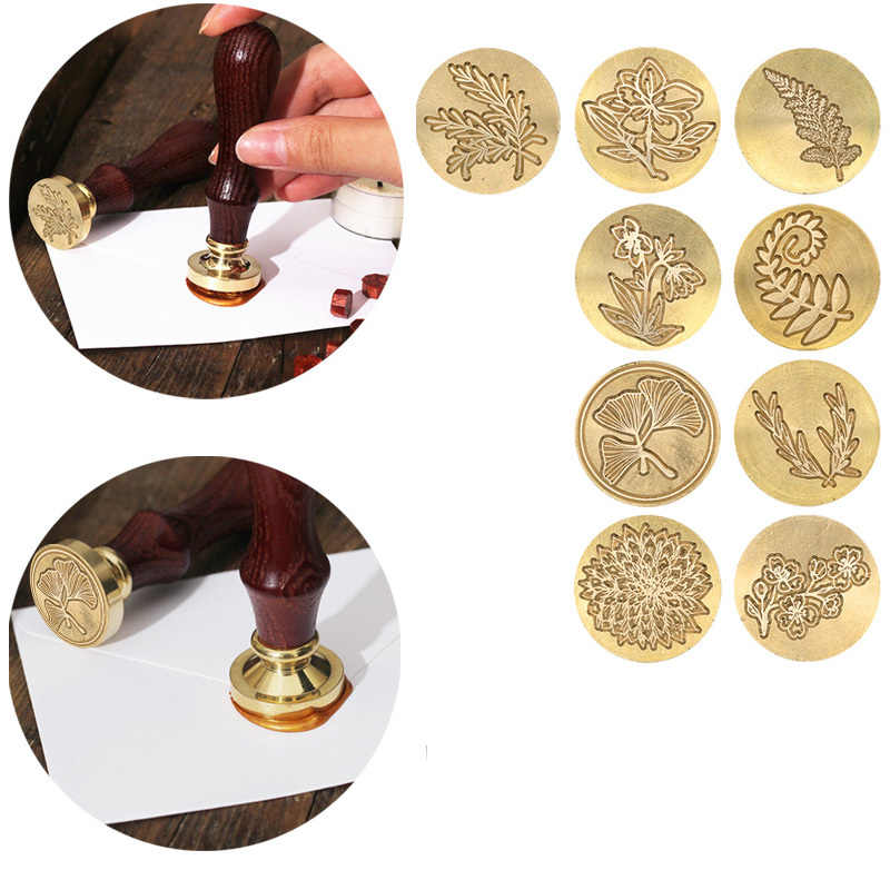 Stamp -stamp Stamp -craft Decoration Plants Of Wedding Wax Seal -seal Seal Seal Of Latvian Harvest Seal Of The Tree Of Life
