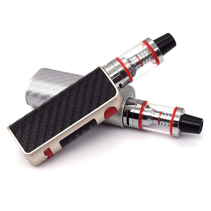 TXW80W Vape Kit 20W-60W-80W Box Mod With 1600mah Build-in Battery 2.5ml Smoke Pen Hookah E Cigarette Vappr Kit