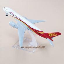 Ar china hainan airlines airbus 350 a350 airways avião modelo de liga metal avião diecast aeronaves 16cm presente