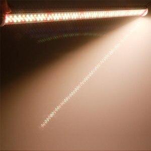 Image 5 - フルスペクトラムはライト 80 ワットチューブ led フィトランプ 85 v 265 v led ランプバー水耕植物成長ライトウォームホワイト赤