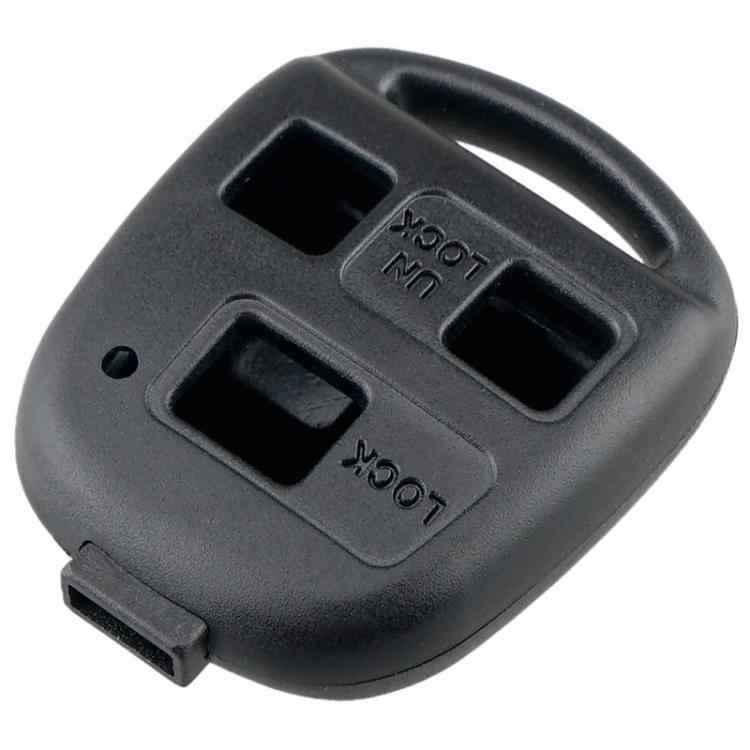 Obudowa kluczyka samochodowego przypadek 3 przycisk obudowa pilota z kluczykiem samochodowym przypadku bez grota nadające się do Toyota Corolla Land Cruiser YARIS CAMRY RAV4 Lexus RX300