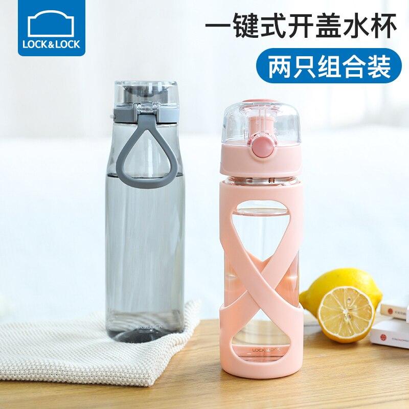 500/750 мл бутылки для воды, стеклянная бутылка, прозрачная бутылка для воды, для путешествий, для студентов, школьников, детей, бутылка для горя... - 3