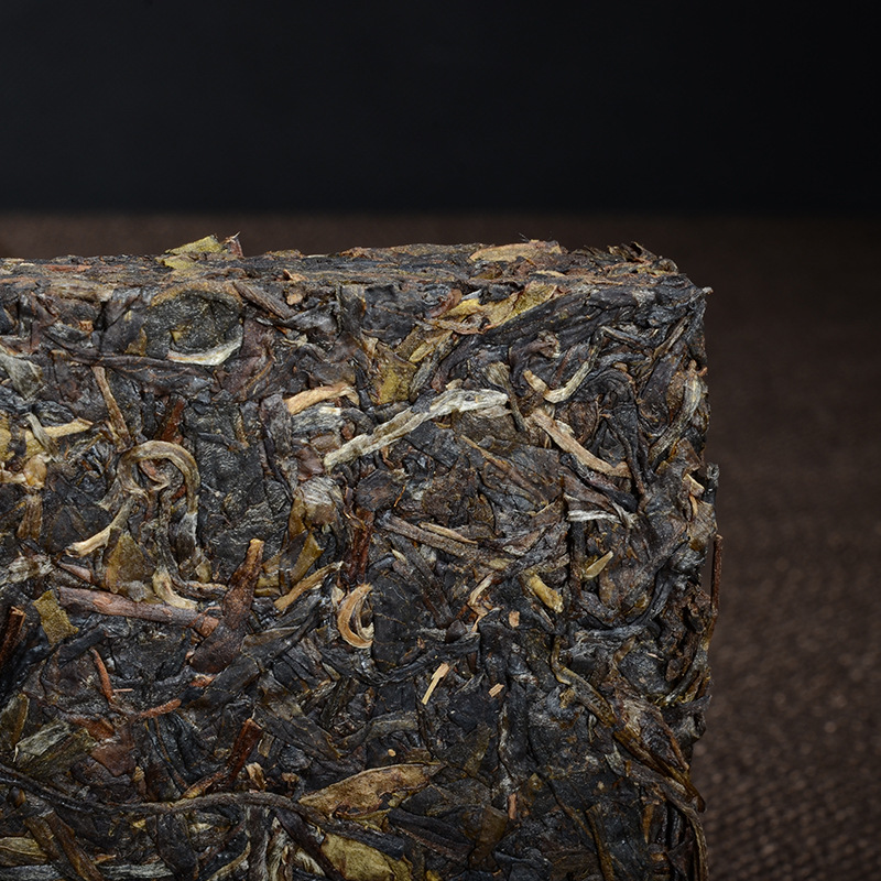 More than 12 Years Tea Chinese Yunnan Old Raw 250g China Tea Health Care Pu'er Tea Brick For Weight Lose Tea 2