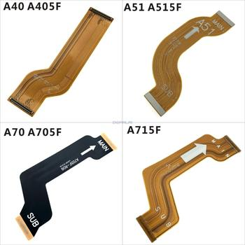 Suitable For Samsung A40 A405F A51 A515F A70 A705F A715F motherboard connector tail plug charging circuit board flex cable SUB 1
