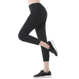 Image 4 - 2020 Women Slimming Pants Body Shapers Neoprene Sweat Sauna Fitness Control Panties Shapewear Tummy Waist Trainer Slimming Pants