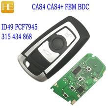 HE Xiang Car Remote Key For BMW F30 F25 F20 1 3 5 7 Series 2009 2016 CAS4 CAS4+ FEM/BDC 315 434 868Mhz ID49 Auto Smart Control