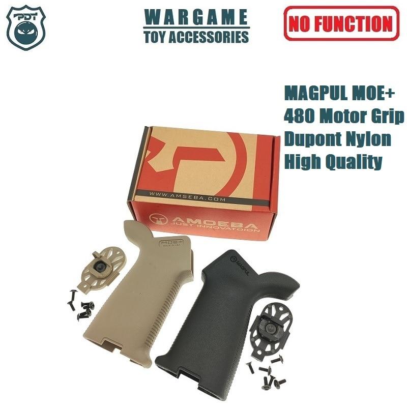 MAGPUL MOE+ 480 Motor Grip V2 Gearbox AR Receiver Back Rear Grip For Toy Gel Blaster Airsoft AEG GBB