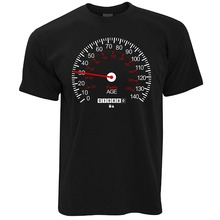 2019 Fashion Men Speedometer 30Th Birthday Car Vintage Track Racer Speed Mph Km/H Rally Motocross Present Shirt