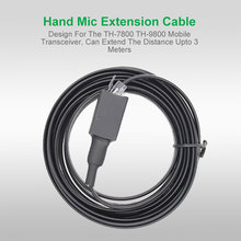 Hand Microphone Extension Cable for TYT TH-7800 TH-9800 Car Mobile
