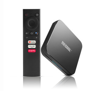 Image 1 - MECOOL KM9 Pro Android 10.0ทีวีกล่อง4G RAM 32G ROM 2.4G/5G WiFi BT 4.1 Amlogic S905X2 Android 9.0 TV Box Media Player