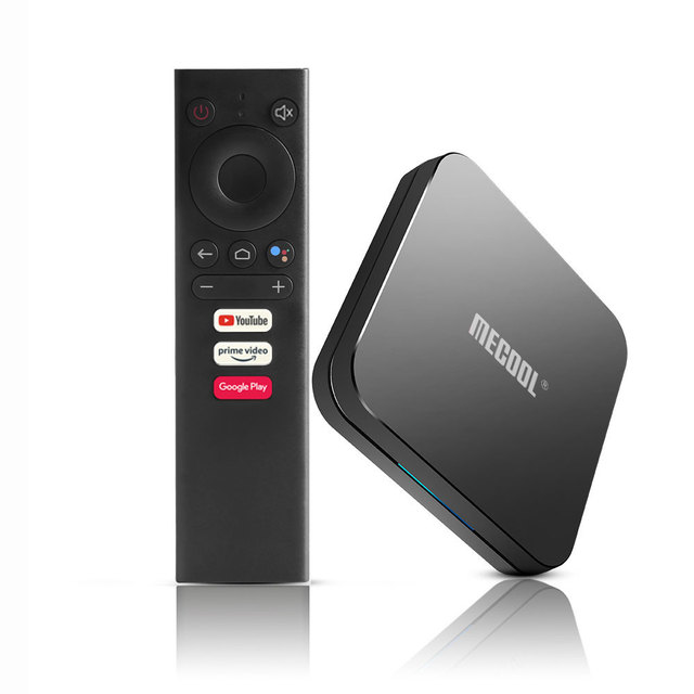 MECOOL KM9 Pro Android 10.0ทีวีกล่อง4G RAM 32G ROM 2.4G/5G WiFi BT 4.1 Amlogic S905X2 Android 9.0 TV Box Media Player