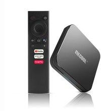 Mecool km9 pro android 10.0 caixa de tv 4g ram 32g rom 2.4g/5g wifi bt 4.1 amlogic s905x2 android 9.0 caixa de tv media player
