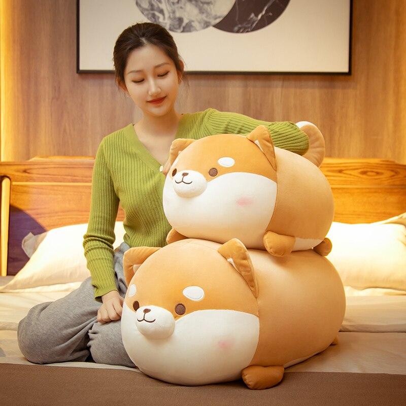 Плюшевая игрушка-собака корги и Сиба-ину, 35-70 см 2