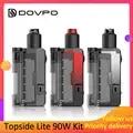 DOVPO Topside Lite 90W Kit powered by single 21700/20700 battery Electronic Cigarette 510 Thread Atomizer vape box mod