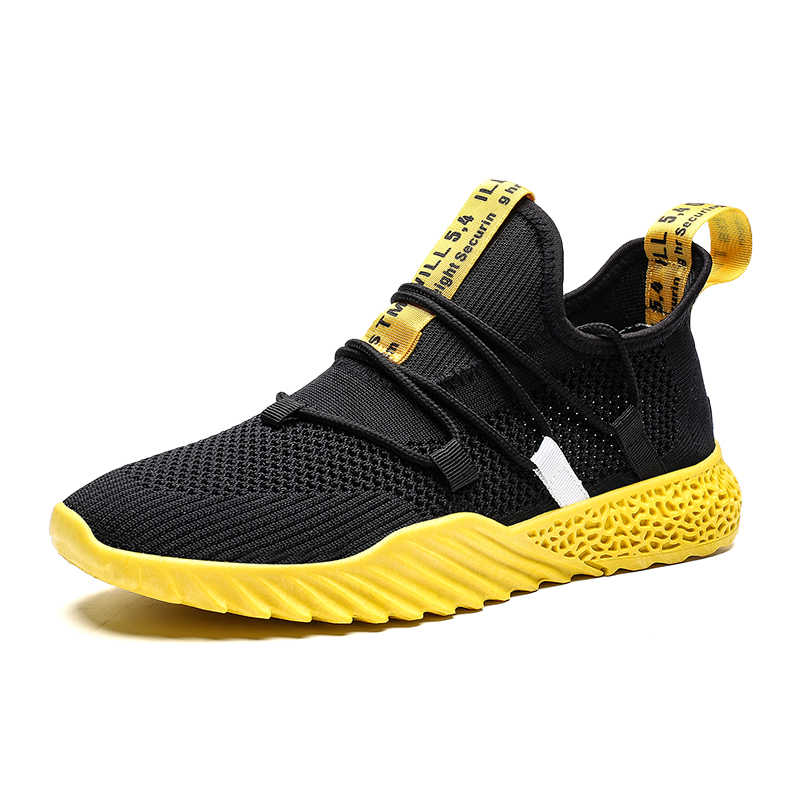 2019 Classic Shoes Men Breathable  Casual Comfortable Lightweight Breathable Mesh Men Sneakers Mens Shoes Casual No-slip Fashion