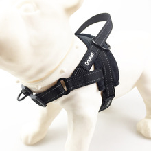 Dog Harness Comfortable flannel lining Pet Vest with Handle Reflective Walking Front Leash Attachment
