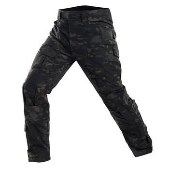 Camouflage Combat Shirt Pants Suit Military Tactical Uniform US Army BDU Multicam Black Men Airsoft Sniper Camo Hunting Clothes 6