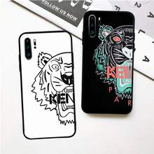 kenzoe tiger luxury designer case for huawei p20 p30 p40 pro mate 10 20 30 pro lite p smart y7 2019 plus nova 3I cases cover(China)