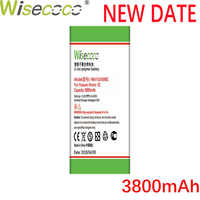 Wisecoco 3800mAh HB4742A0RBC New High quality Battery For Huawei Honor 3C G630 G730 G740 H30-T00 H30-T10 H30-U10 H30 Phone