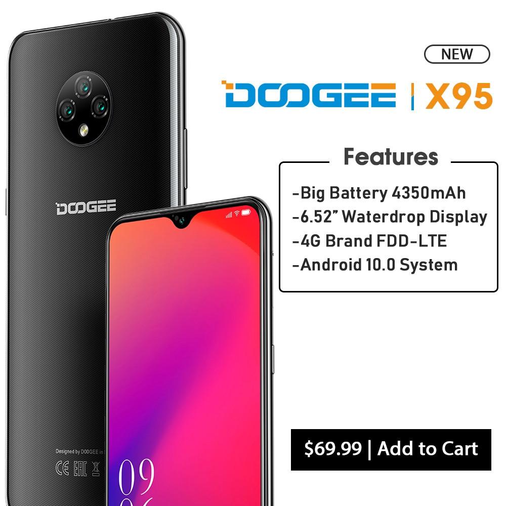 DOOGEE X95 4G-LTE Cellphones 6.52