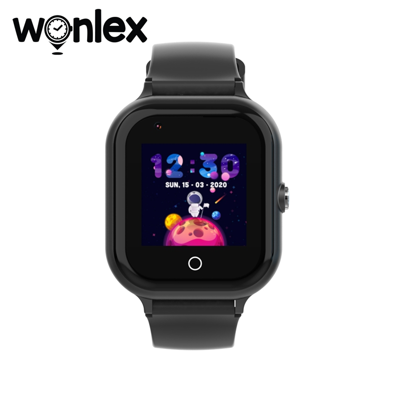 Wonlex KT24 Smart Uhr Kind Kamera Uhr Big-Batterie GPS-WIFI Tracker Nehmen-Video 4G Kinder Wasserdichte Baby SOS Anti-Verloren Uhren