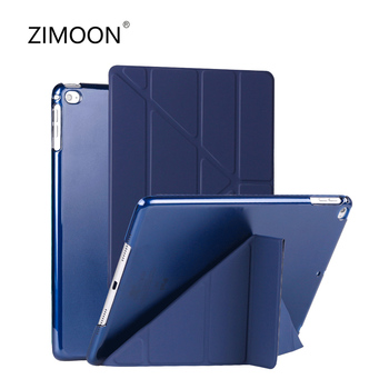 Dla iPad Air 4 3 2 Case dla iPad 9 7 2017 2018 Cover dla iPad mini 2 3 4 5 iPad 2 3 4 dla iPad Pro 9 7 10 5 Case dla iPad 10 2 tanie i dobre opinie zimoon Powłoka ochronna skóry 9 7 CN (pochodzenie) ZMAR07 Stałe 17cm Dla apple ipad iPad 9 7 cala z 2017 roku Na co dzień