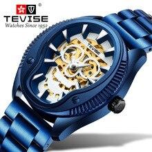 Tevise Men's Watches Unique Dial Design