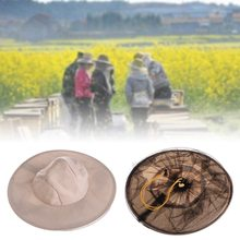 Ткань нейлоновая сетка анти пчелиная шапка пчеловод Защитная