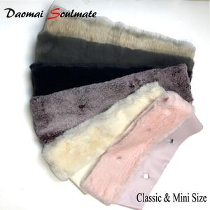 11 colors Plush Trim Thermal Trims Fit for Classic Mini Size O bag Obag handbag Accessories