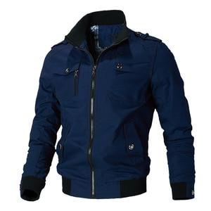 Image 3 - Mountainskin jaqueta casual masculina, primavera outono, exército, militar, casacos para uso externo, roupas de marca, sa779