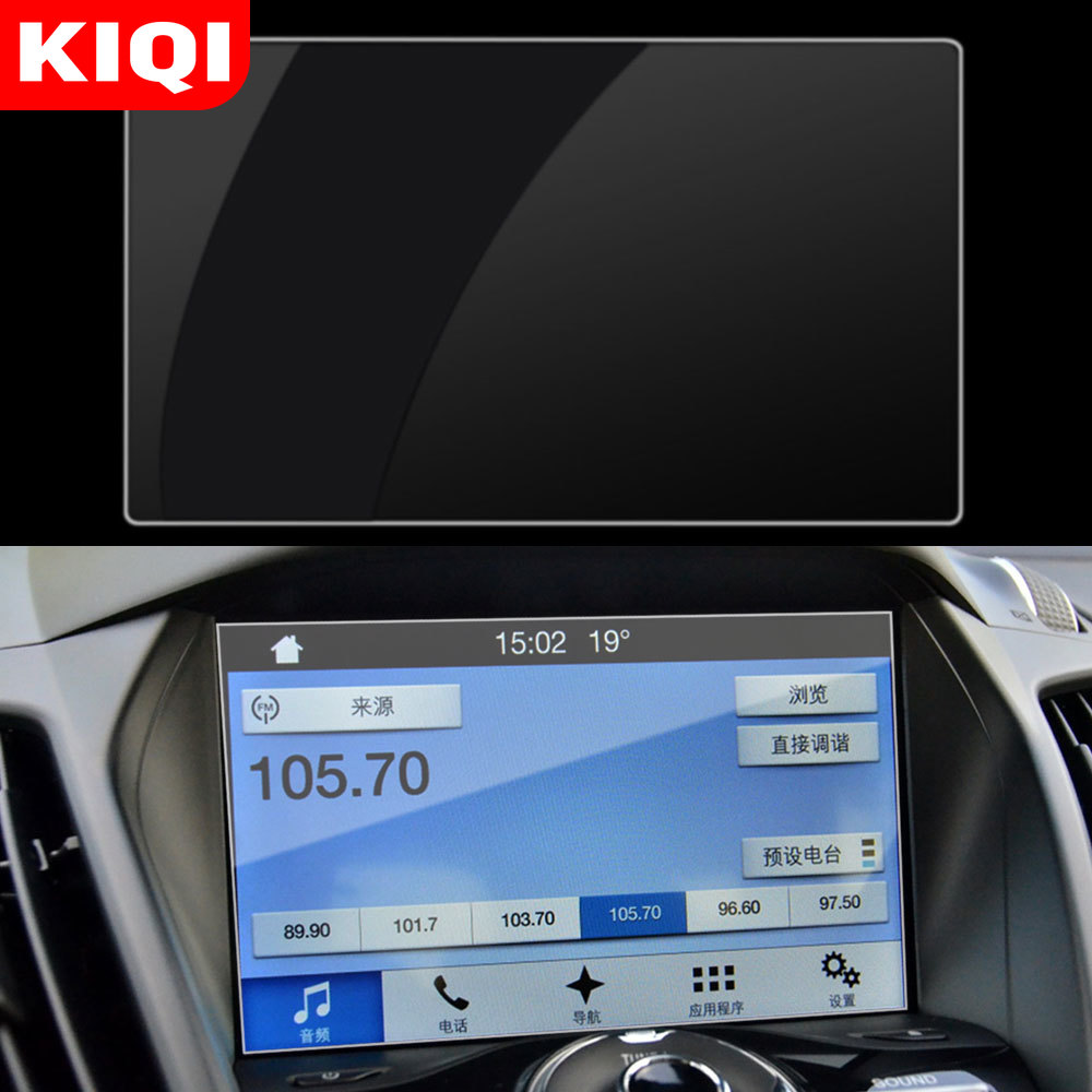 Car Navigation Screen Protector Protective Film Fit For Ford Kuga 2013 2014 2015 2016 2017 2018 Accessories Car Styling image