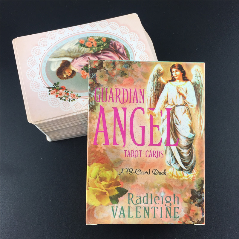 Guardian Angel Tarot Cards Full English Outdoor Party Guidance Divination Fate Game Board Oracle Cards Deck
