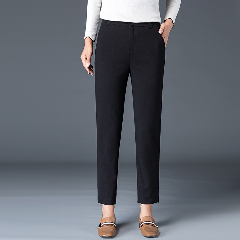2019 Autumn New Style Casual   Pants   Women's Korean-style   Capri   Baggy   Pants   WOMEN'S   Pants   Large Size Harem   Pants   Manufacturers 193