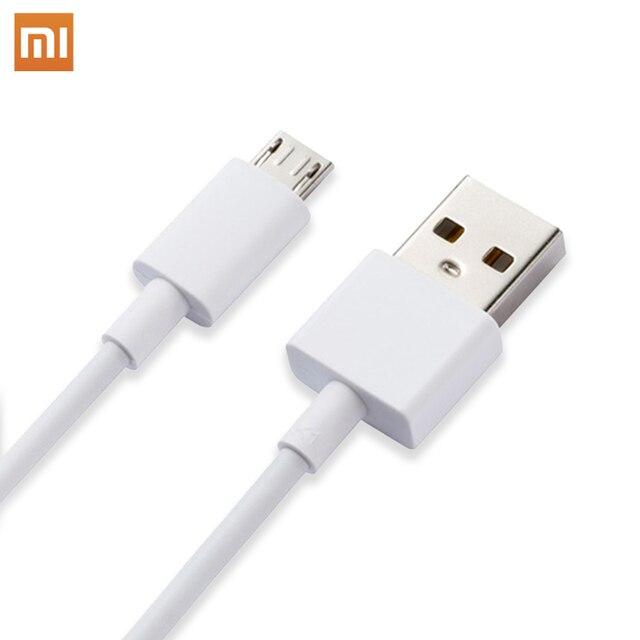Оригинальный кабель для передачи данных Xiaomi Micro Type C USB Line 2A 2.5A Быстрая зарядка для Mi 3 4 5 6 Max Mix 2 Redmi 5 Plus Note 4 4X 5A 3 3X Pro