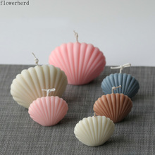 Shell Candle Mold DIY Homemade Aromatherapy Candle Making Supplies Acrylic Plastic Mold Resin Molds Fondant Mold Plaster Mold