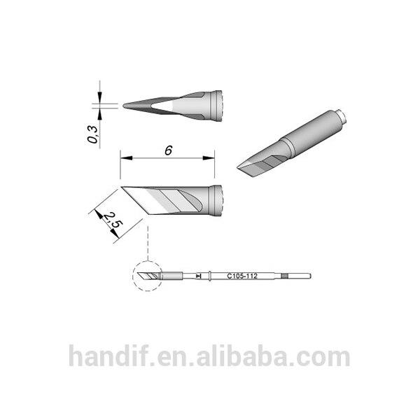 Original Tips Cartridge C105 112 JBC Soldering