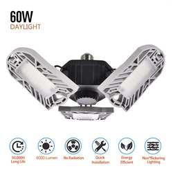 E26 144 светодиодные огни деформируемый потолочный светильник гаражное освещение промышленные лампы для мастерская склада светодиодный