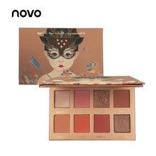 NOVO Brand Fox Maiden Nude Earth color Eyeshadow Matte Shimmer glitter wet dry p
