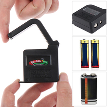 Battery Tester Battery Capacity Checker For AA AAA 9V 1.5V Button Cell Battery