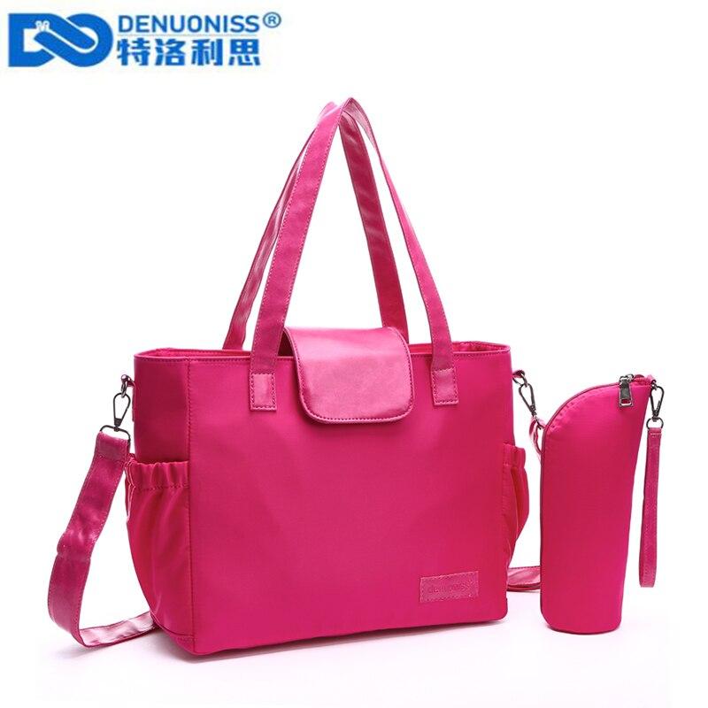 DENUONISS Nylon Diaper Bag Portable Fashion Mother Bag Large Capacity Baby Bag For Mom Waterproof Crossbody Mummy Bag